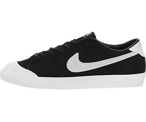 Nike Men's Zoom All Court CK QS Black/White Skate Shoe 10.5 Men US