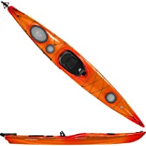 Wilderness Systems Tsunami 140 Kayak with Rudder Mango, One Size