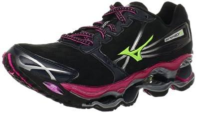 Mizuno Women's Wave Prophecy 2 Running Shoe,Anthracite,6 B US