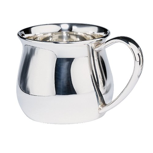 Lunt Sterling Bulged Baby Cup, 5-Ounce - 1