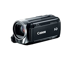 Canon VIXIA HF R32 Full HD 51x Image Stabilized Optical Zoom Camcorder Wi-Fi Enabled with 32GB lnternal Drive Dual SDXC Card Slots and 3.0 Touch LCD