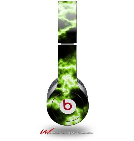 Electrify Green Decal Style Skin (Fits Genuine Beats Solo Hd Headphones - Headphones Not Included)