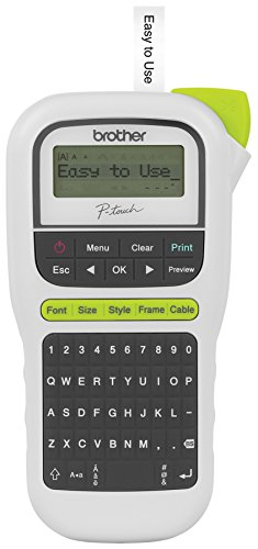 Brother Easy Portable Label Maker (PTH110) (Brother Label Makers compare prices)
