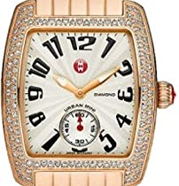 MICHELE Urban Mini Diamond Rose Gold Bracelet Watch