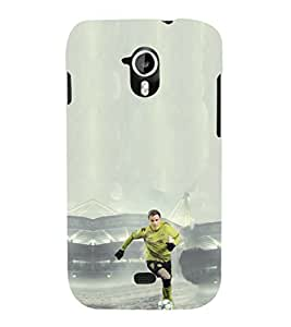 EPICCASE Goalkeeper in Green Jersey Mobile Back Case Cover For Micromax A116 Canvas HD (Designer Case)