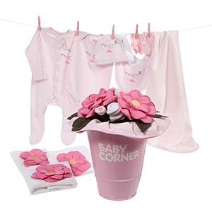 Baby Corner - Buqué de flores de algodón para dormitorio de bebé por Baby Corner - BebeHogar.com