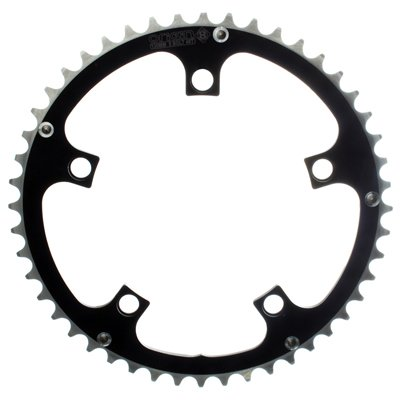 Origin8 Alloy Ramped Bicycle Chainring - 110mm 5-Bolt 53T