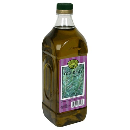 Auguri Rosemary Flavored Extra Virgin Olive Oil, 34-Ounce Bottles (Pack of 3) by Auguri