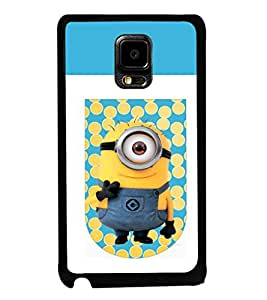 printtech Minions Hi Back Case Cover for Samsung Galaxy Note i9220::Samsung Galaxy Note 1 N7000