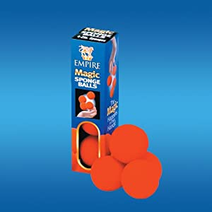 "Empire Magic 2"" Red Sponge Balls"