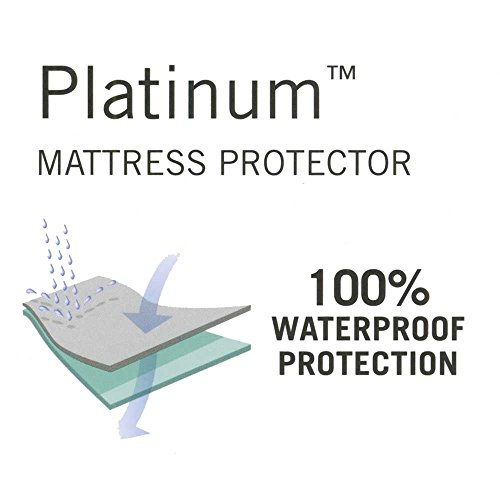 Sleep Calm Mattress Protector With Stain And Dust Mite