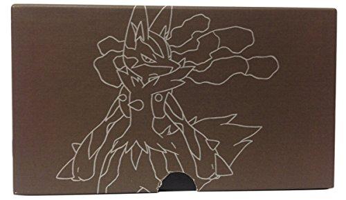 Empty Brown Mega Lucario Elite Trainer Box for Pokemon Trading Card Storage - Cardboard