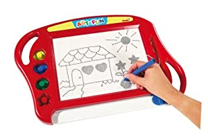 Simba 106330277H - Art and Fun Magic Drawing Board, rot