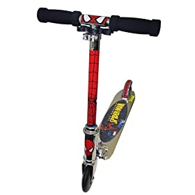 The Amazing Spiderman Kid's Folding Scooter
