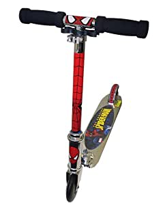 The Amazing Spiderman Kids Folding Scooter available at Amazon for Rs.8217