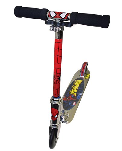 The Amazing Spiderman Kids' Folding Scooter