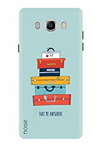 Noise Designer Printed Case / Cover for Samsung Galaxy J7 - 6 (New 2016 Edition) / Graffiti & Illustrations / Take Me Anywhere Design
