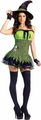 FunWorld Women's Rockin Witch Adult Costume