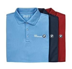 Bmw Genuine Logo Nike Uv Tech Polo Shirt