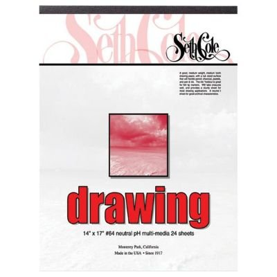 """Drawing Paper Pad Size: 24"""" X 18"""""""