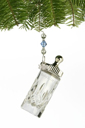 Waterford Crystal 2007 Baby'S First Christmas Ornament front-628106