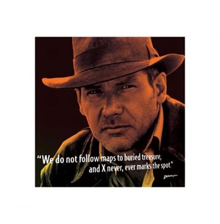 Indiana Jones Harrison Ford Movie Poster
