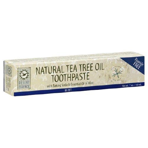 Desert Essence - Tea Tree Oil & Neem Toothpaste 6.25oz