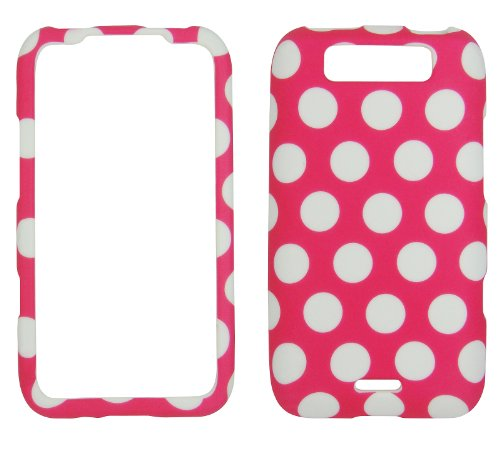Pink Polka Dot Lg Connect 4g Ms840 & Lg Viper 4g Ls840 Phone Cover Case Prote... (Lg Ms840 compare prices)