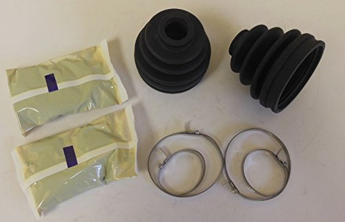 2 Outer CV Axle Boot Repair kit with Clamps and Grease 4WD vehicles (Cv Axle Grease compare prices)