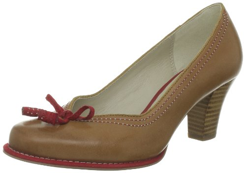 Clarks Bombay Lights Closed Womens Brown Braun (Biscuit Leather) Size: 41.5