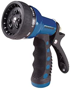 Dramm 12705  9-Pattern Revolver Spray Nozzle, Blue