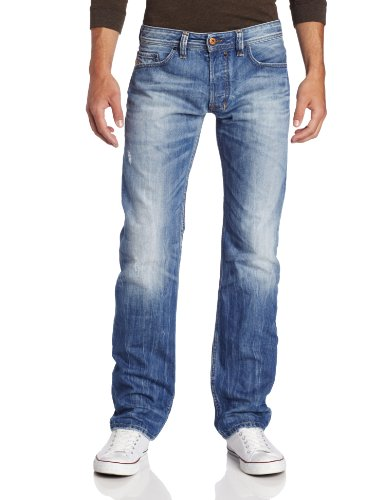 Diesel Men's Safado Regular Slim Straight Leg Jean 0816P from Diesel