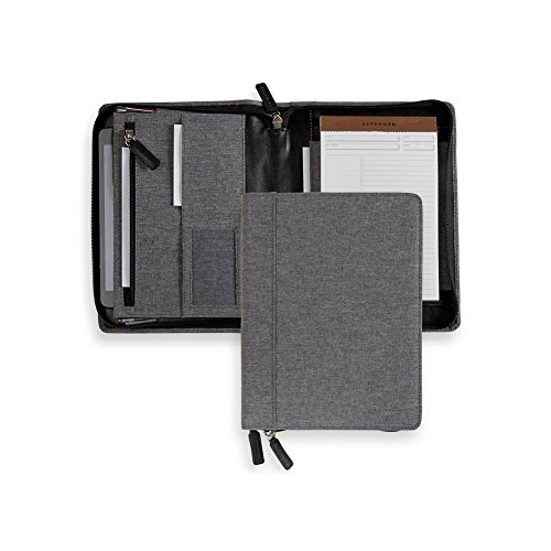 Levenger Bookcloth Zip Folio (Annotation Ruled Pads compare prices)