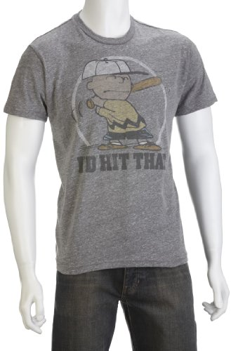 Junk Food Men's I'D Hit That T-Shirt Steel PM313-6040 Small