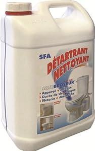 SFA DETFR Détartrant sanibroyeur Spécial 5 L