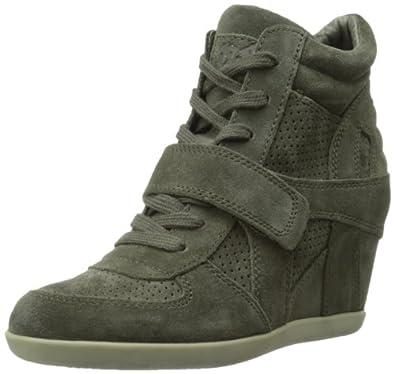 Ash Women's Bowie Fashion Sneaker,Military,35 EU/5 M US
