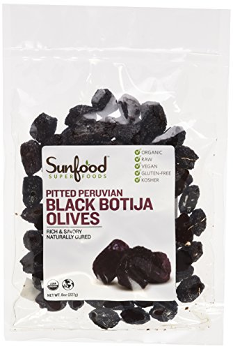 Sunfood-Black-Botija-Olives-PittedOrganic-Raw-8-oz-Packet