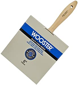 Wooster Brush Z1516-6 Trusty Block Paintbrush, 6-Inch