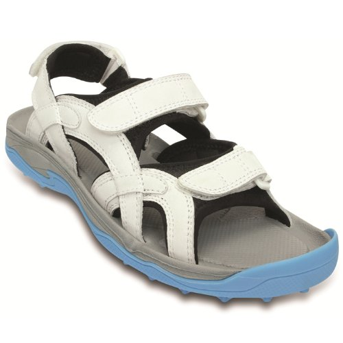 White Mens Sandals front-589949