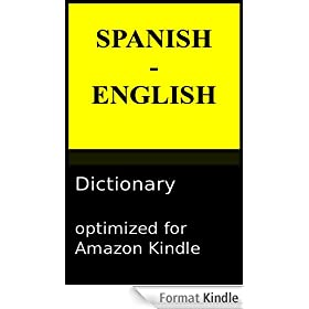 Spanish - English Reader's Dictionary (English Edition)