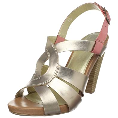 Seychelles Women's Squeak Ankle-Strap Sandal,Rose Gold,11 M US