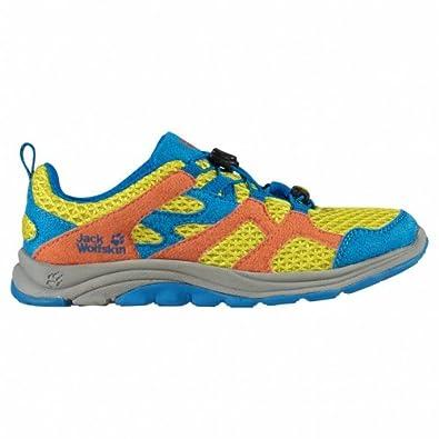 Jack Wolfskin  KIDS PALM DESERT, Chaussures de randonnée mixte enfant Soufre 29