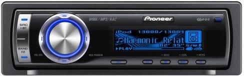 Pioneer DEH-P6900IB-I200 DIRECT iPOD CONTROL MP3/WMA/WAV/AAC CD RDS TUNER, BLUE OEL DISPLAY