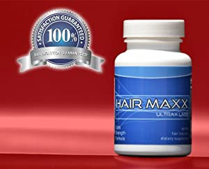 Ultrax Labs Hair Maxx DHT Blocking Hair Loss Hair Growth Nutrient Solubilized Keratin Vitamin Supplement