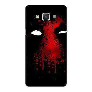 Horror Red Back Case Cover for Galaxy Grand Max