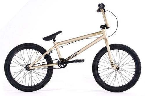 United Recruit RN3 2011 Complete BMX Bike - Flat Gold