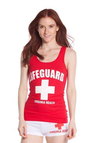 Official Lifeguard Girls Printed Tank Top