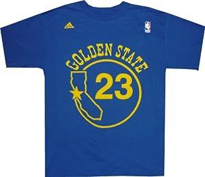 Golden State Warriors Mitch Richmond Adidas Throwback Shirt by adidas