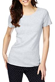 M&S Collection Pure Cotton Crew Neck T-Shirt [T41-0903-S]
