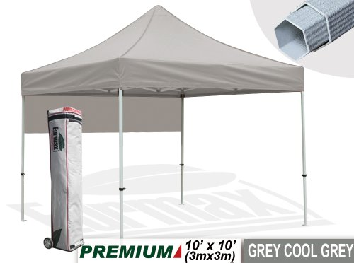 Eurmax Premium 3 x 3 m Heavy Duty Gazebo with Wheeled Carry Bag